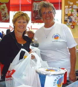 ''Nanny Dot'' bag packing to raise funds at Iceland